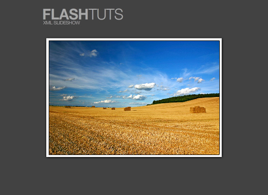 XML Flash Slideshow