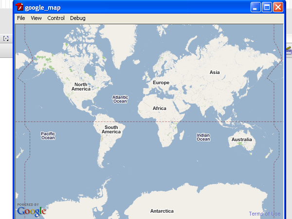 google maps api for flash