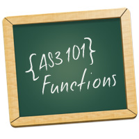 AS3 101: Functions  Basix