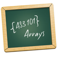 AS3 101: Arrays